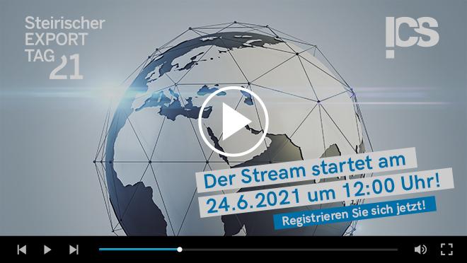 Virtueller Exporttag - Stream
